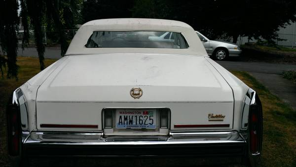 Three Doors won't open 1987 Brougham | Cadillac Owners ForumCadillac Forums