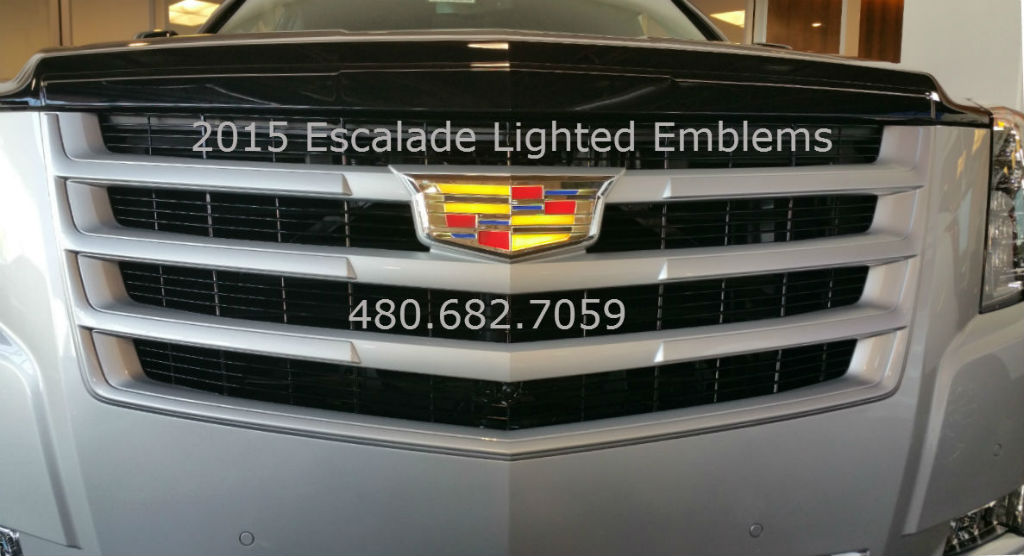 2015 Escalade LED Lighted Emblems Front and Rear | Cadillac Owners Forum