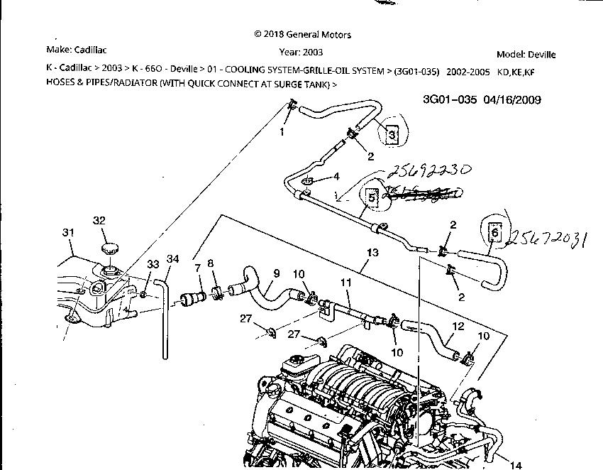 purge line return tube ? why can i not find one anywere | cadillac owners  forum  cadillac forums