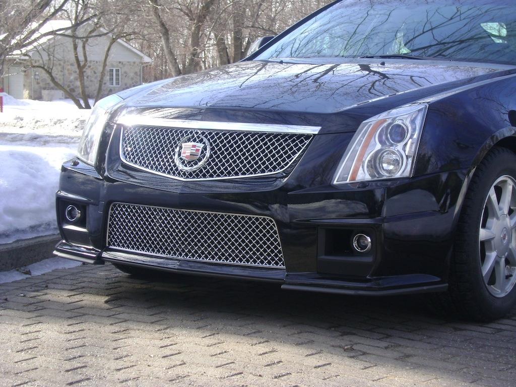 putting a cts-v hood and bumper on my stock 2008 cts? help