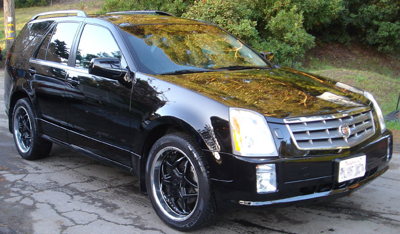 My Srx With 22 Wheels Page 2 Cadillac Owners Forum