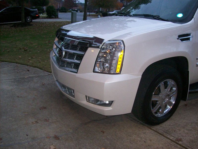 platinum series front headlights fit on a normal escalade 2009 cadillac owners forum platinum series front headlights fit on