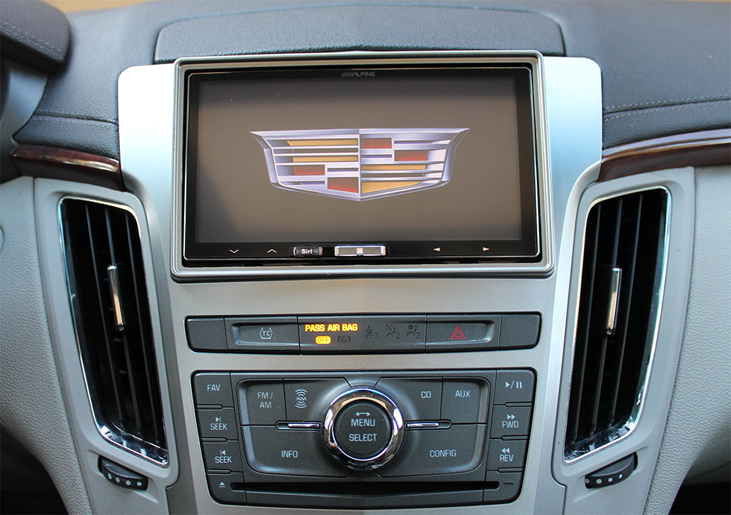 2008 Cadillac Cts Aftermarket Stereo