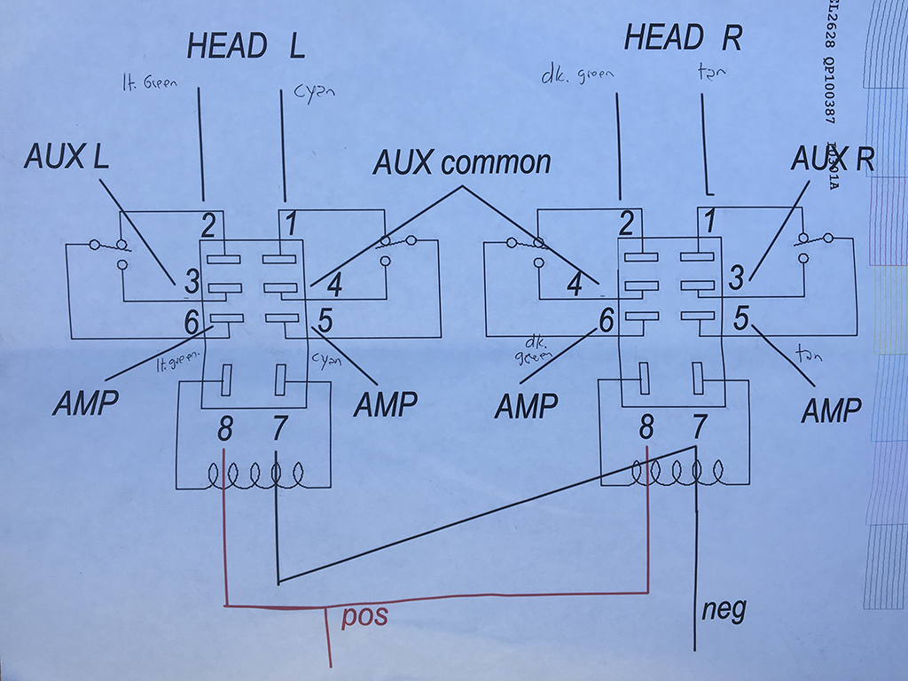 2004 SRX Low Level Radio Output wiring diagram for 6 pin ... Conector Pin Wiring Diagram on 8 pin battery, 8 pin plug, 8 pin wire, 8 pin power supply, 8 pin connector diagram, 8 pin relay diagram, 8 pin transformer, rs232 connection diagram, 8 pin serial, 8 pin switch, 8 pin chassis,