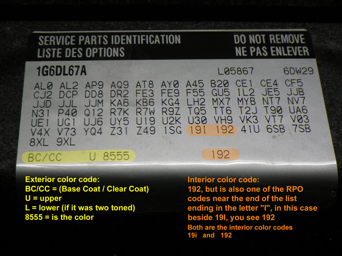 SRX interior color paint code??? | Cadillac Owners Forum