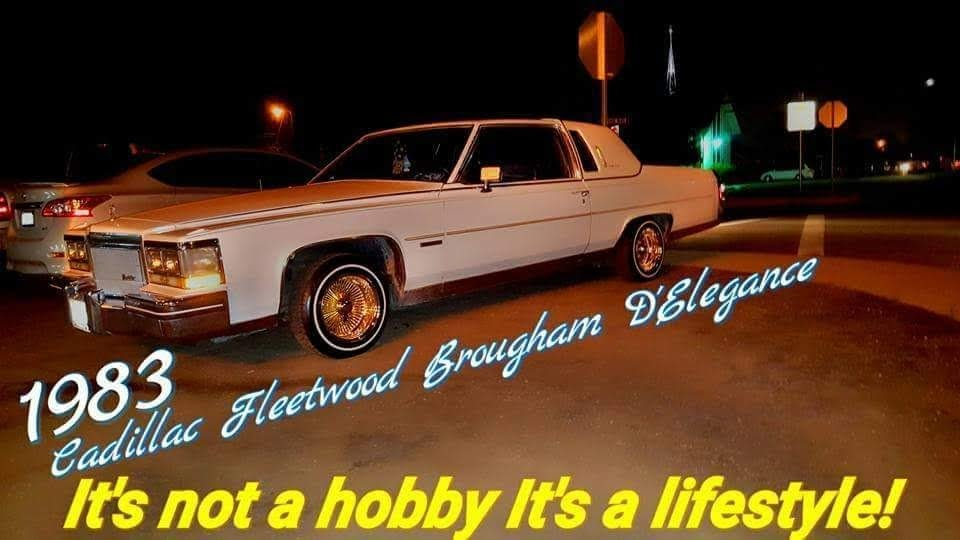 1983 cadillac Fleetwood Brougham d'elegance coupe