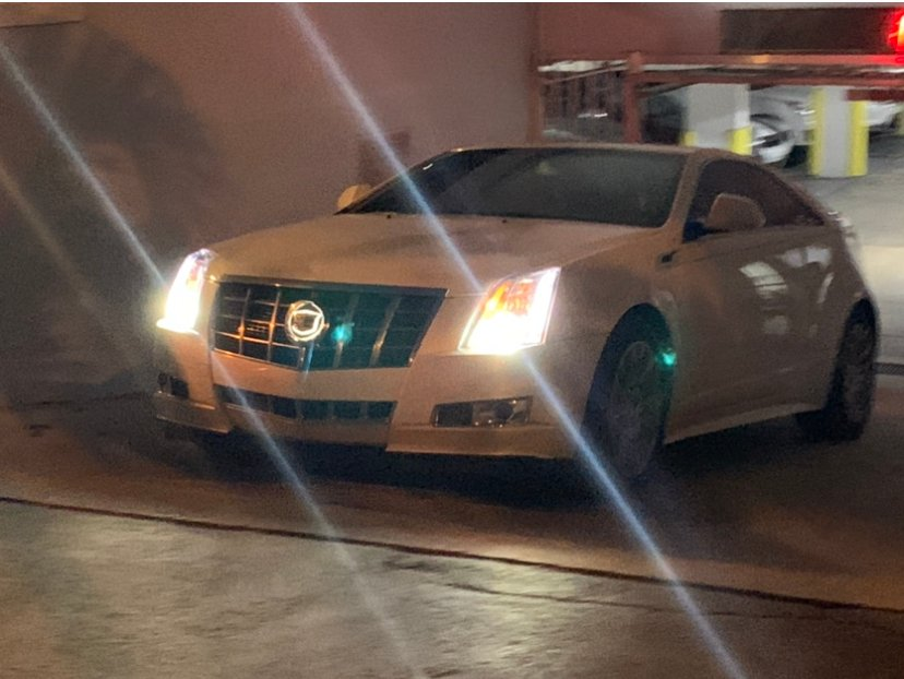 Glowing CTS Coupe