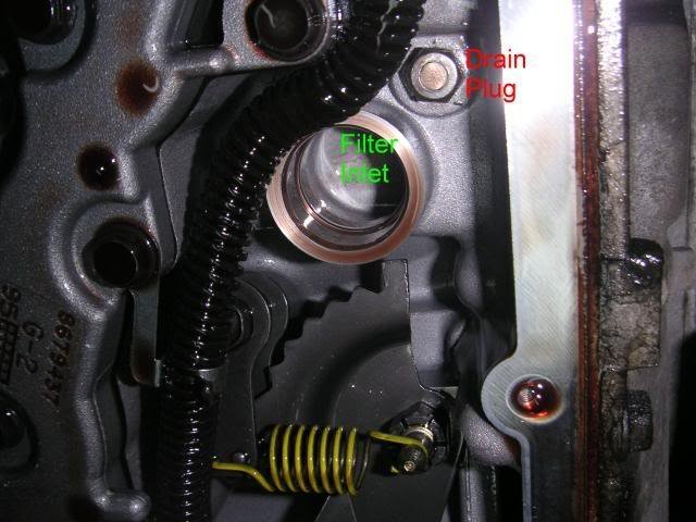 Transmission fluid drain plug? Is there one? '99 deville | Cadillac