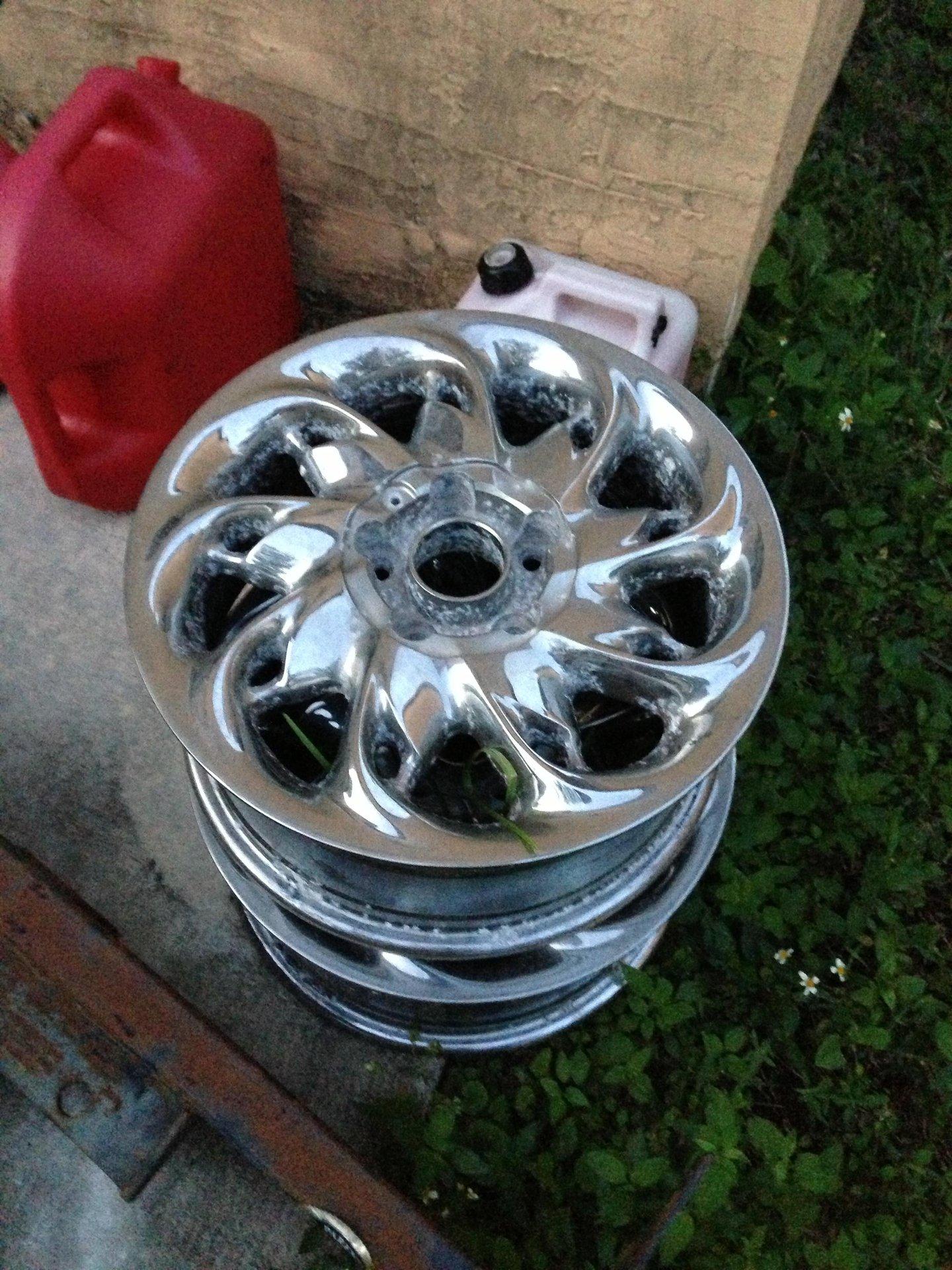 Fs Vogue Stardust Wheels Needs Rechroming Cadillac