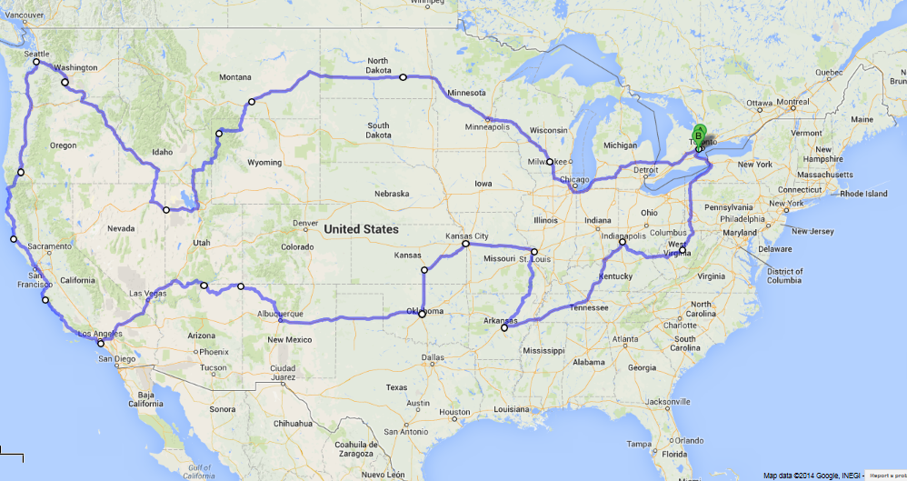 The Epic journey around USA (part II) | Cadillac Owners Forum