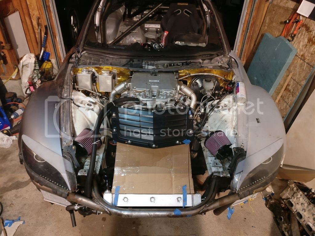 ATS-V LF4 into an RX8 - Build thread | Cadillac Owners Forum