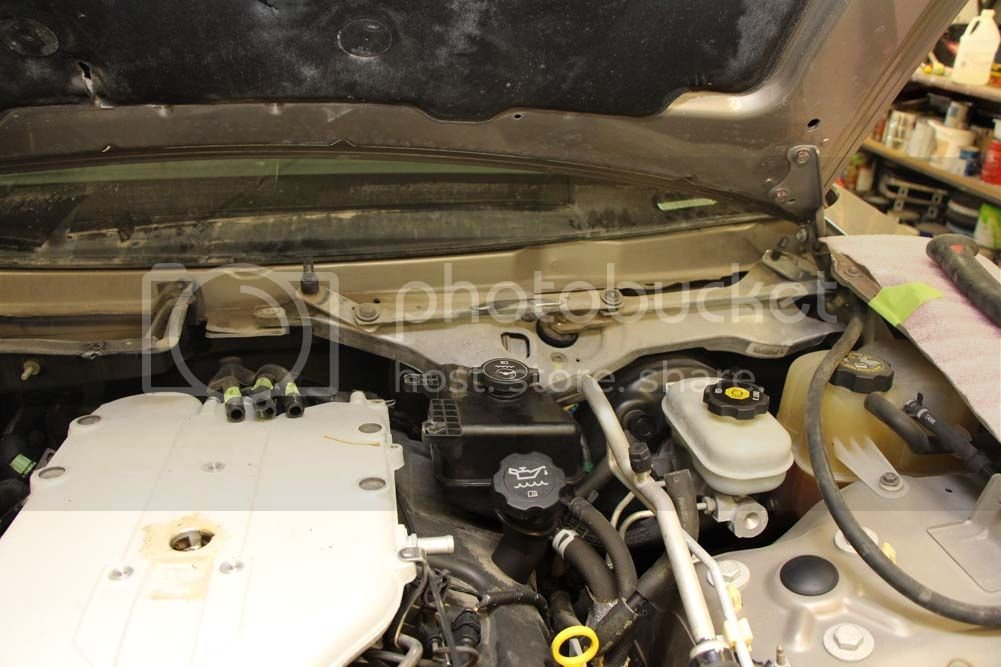 2003 cts 3 2L timing belt replacement and the works!! PICS