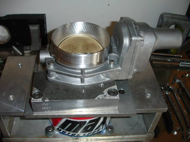 Porting stock ls6 throttle body  | Cadillac Owners Forum