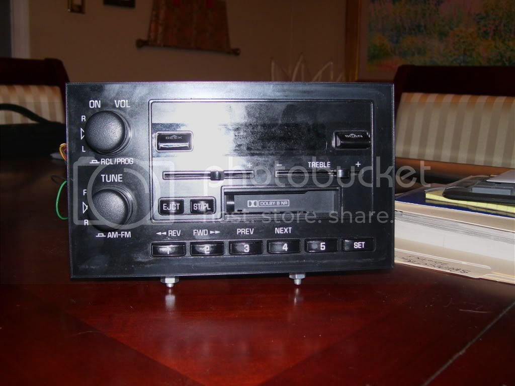 Eldorado Radio Install   Cadillac Owners Forum