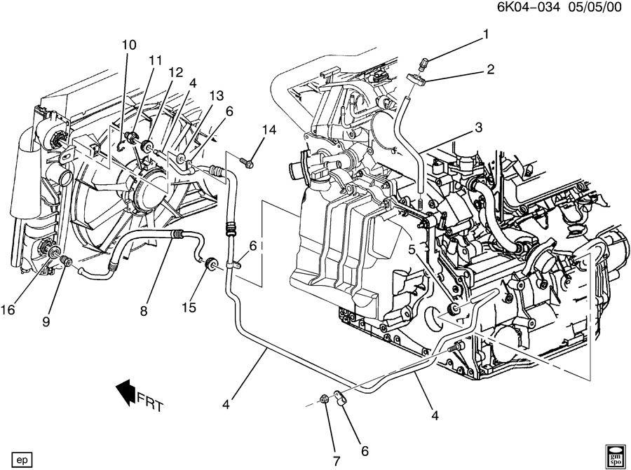 2004 Cadillac Deville Radiator Diagram - Wiring Diagrams on