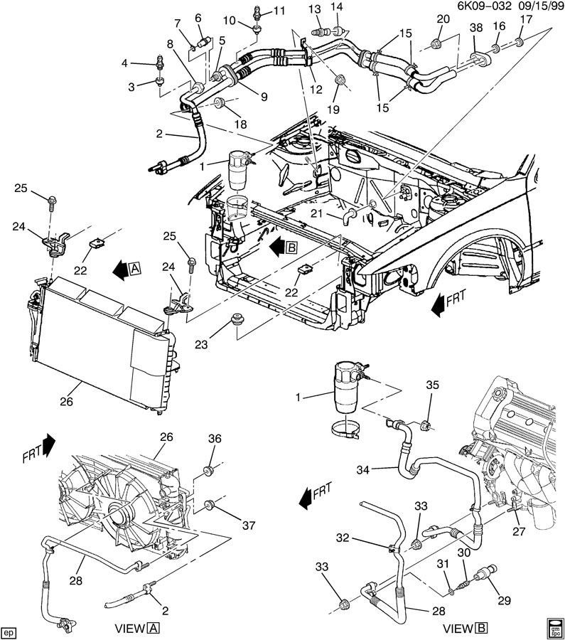 2002 Deville water leaking under dash | Cadillac Owners Forum