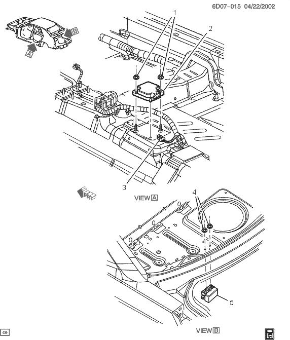 Service Stability System >> Yaw sensor replacement - Service Stability System (C1282