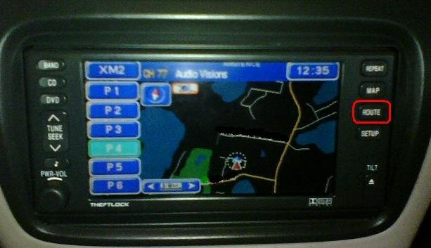 SRX - The Solution To Unlock Navigation While Driving