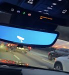 2019 CT6 Rear view mirror camera