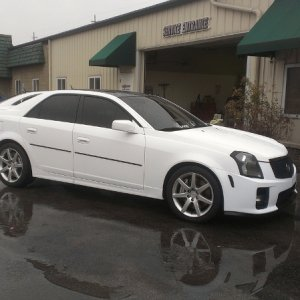 fresly washed matte white cts v