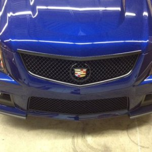 Dipped the grille on this cts-v