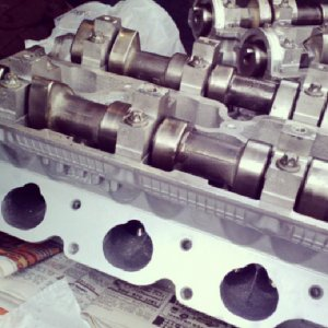 2003 Cts  3.2l cylinder heads