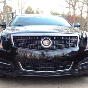Cadillac ATS front with chin spoiler