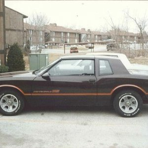 86 Monte Carlo SS 305/5.0 HO 4 BBL - 180HP 3.73 Posi T-Tops