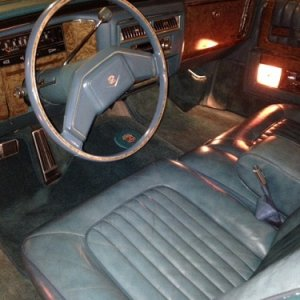 Front Seat Cadillac 11