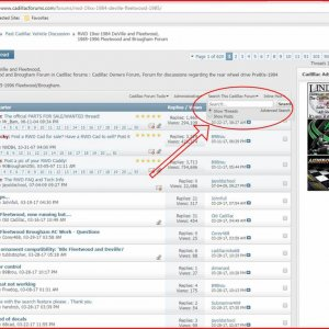 Forum Search feature