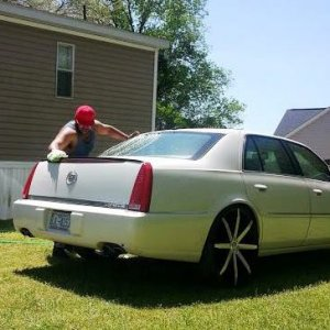 24's Custom Cadillac Wheels
