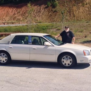 Sgt Grits and His DeVille 9/11/14 108,000 miles