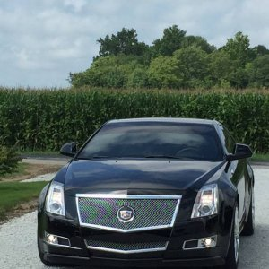 2011 Cadillac CTS Coupe Premium AWD Black/Black 3