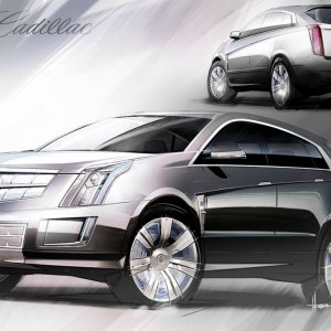 Cadilac Provoq Fuel Cell Concept