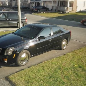 2003 CTS with Full Moon Covers