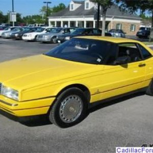 Allant '92 Yellow with Yellow hard top