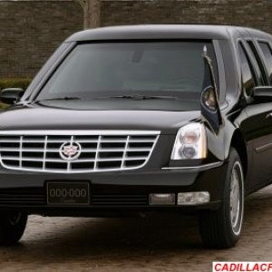 Cadillac DTS (presidential limo)