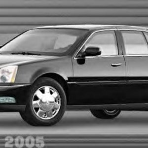 Cadillac DTS (edited photo, front on DeVille body)