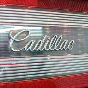 Cadillac on the Allant tail light