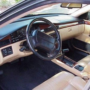 Interior shot of 93' STS