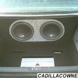 my ICE in my vauxhall omega/ cadillac cetera