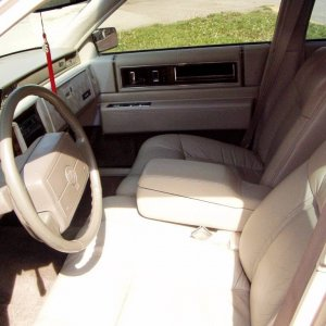 93 SDV front seat