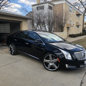 2014 XTS Platinum Edition on 22's