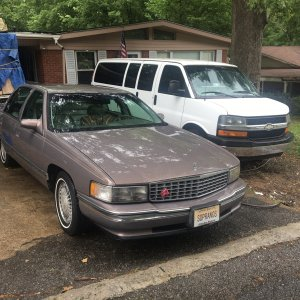 My 1994 Cadillac DeVille