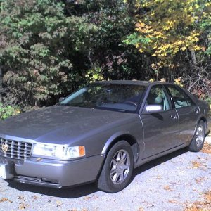 1997 Cadillac STS – Corner view late fall