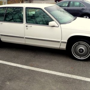 1992 DeVille purchased on 1 3 09 009