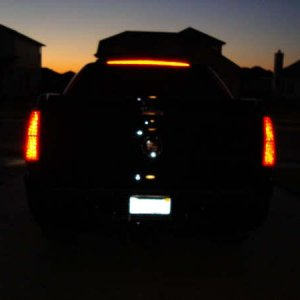 rear pics of smoked tail lights