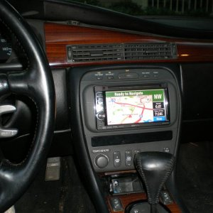 With Garmin Nav