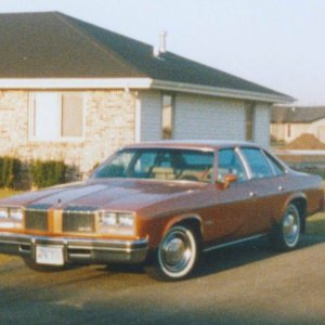 MY FIRST CAR 77 CUTLASS SUPREME 350 4 BRL