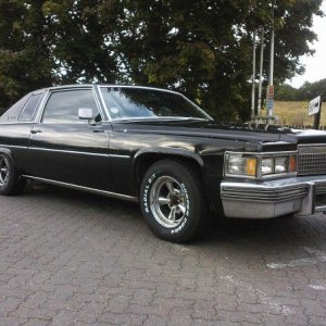 1979 Coupe deville with LPG (Liquid Petroleum Gas) tank in the trunk ( half price of petrol and 80% cleaner!